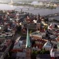 На севере Латвия