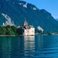 Замок de Chillon, Озеро Женева