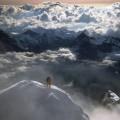 На Вершине Пика Eiger, Berner Альпы