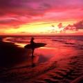 Серфингист в Сумерках