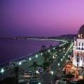 Франция ночью